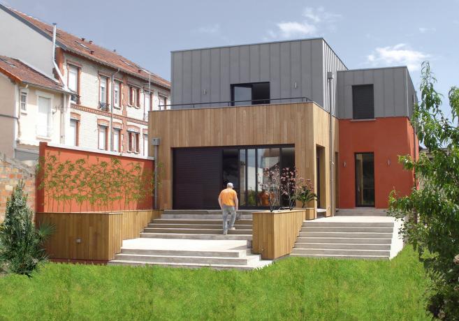 les projets d 39 architecture de l 39 agence habitat individuel oha. Black Bedroom Furniture Sets. Home Design Ideas